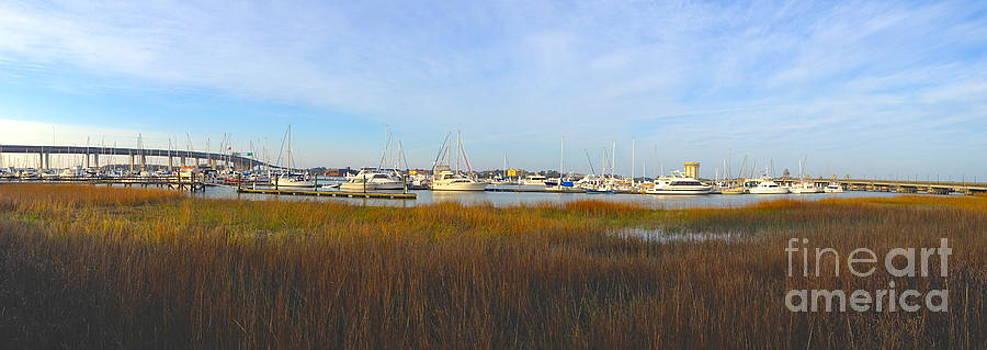 Charleston Harbor Panorama by M West