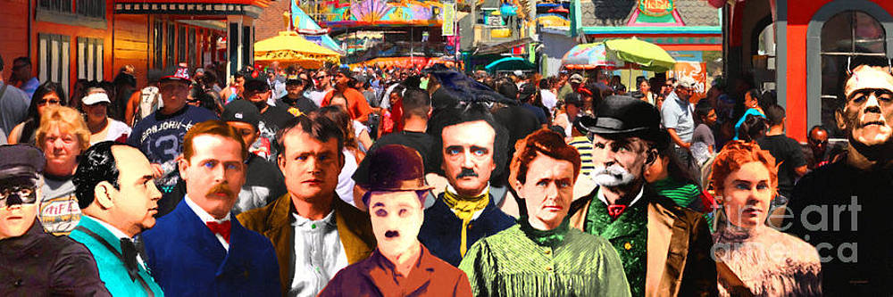 Wingsdomain Art and Photography - Charlie and Friends Tries To Blend In With The Crowd 5D23867