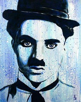 Charlie Chaplin Little Tramp Portrait by Bob Baker