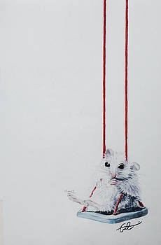Charlie the Mouse by Cristel Mol-Dellepoort