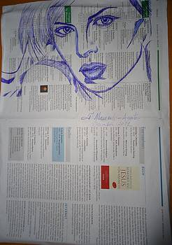 Charlize Theron by Fladelita Messerli-