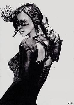 Charlize Theron  by Kohdai Kitano