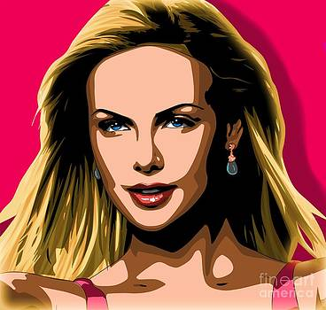 Charlize Theron Portrait by Dwain Morris