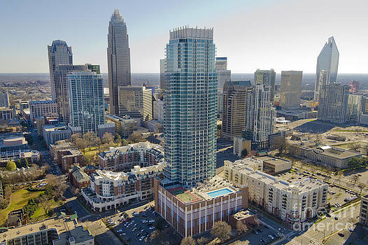 Charlotte Aerial Vue by Clear Sky Images