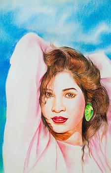 Charming beautiful Asian-girl by Kitipong Bhalatanya