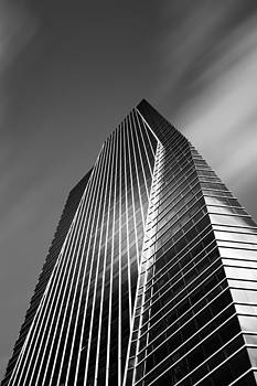 Chase Bank Tower In Brickell by Alex Galiano