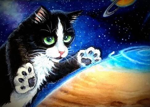 Chasing Jupiters Aurora by Debrah Nelson