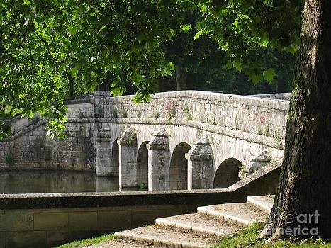 Chateau Chambord Bridge by HEVi FineArt