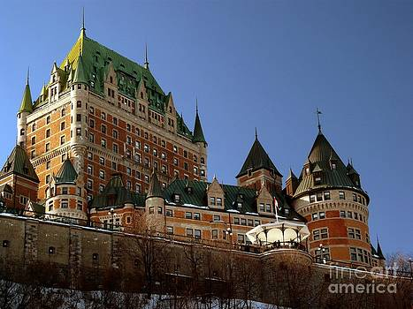 Christine Stack - Chateau Frontenac in Quebec City