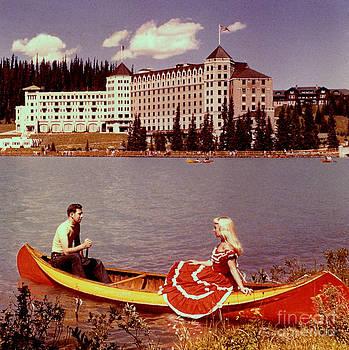 Linda Rae Cuthbertson - Chateau Lake Louise 1960