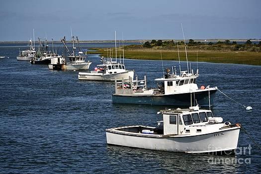 Chatham Harbor by Jim Gillen