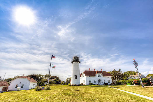 Chatham Lighthouse Chatham MA by James Wellman