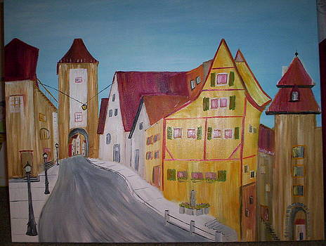 Chatham Village by Harold Messler