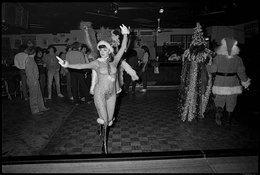 Chatterbox Xmas Burlesque Review no 1 by David Riccardi