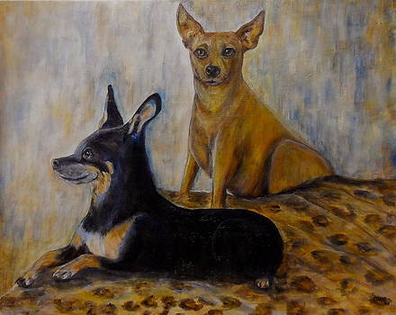 Chauncy and Bella by Maureen Pisano