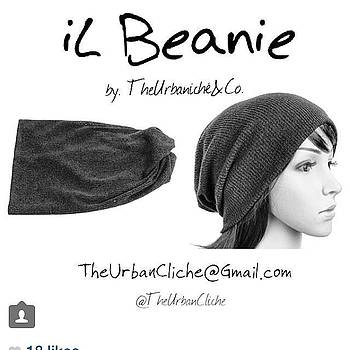 Check Out The New Il Beanie From The by Darius Wilson