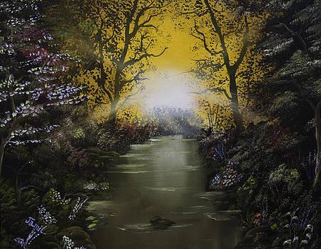 Cheerful Sunrise  by Jamil Alkhoury