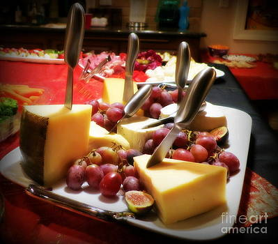 Cheese Platter by Tanya  Searcy