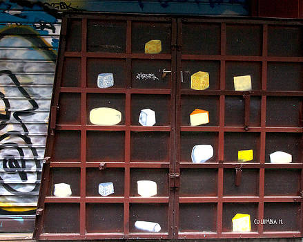 Cheese wall by Columbia Hillen