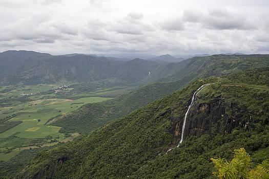 Chellarkovil Waterfall by Sonny Marcyan