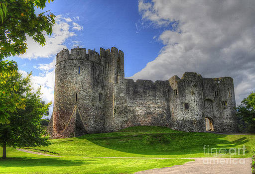 Chepstow Castle by Skye Ryan-Evans