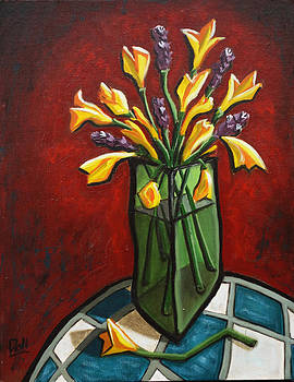 Cherie's Flowers by Donald Bruce Wright