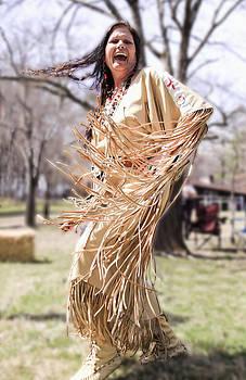 Cherokee Dancer by Linda A Waterhouse