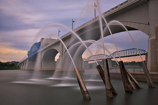 Cherokee Water Cannon by Ben  Keys Jr