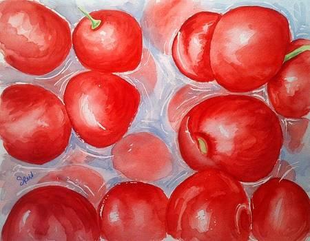 Cherries by Stephanie Reid