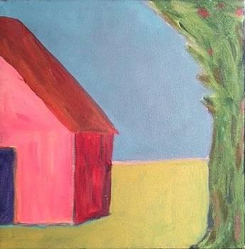 Cherry Barn by Molly Fisk