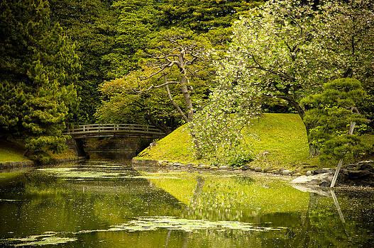 Sebastian Musial - Cherry Blossom Japanese Garden