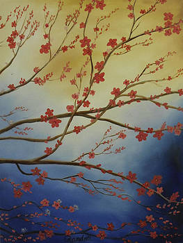 Cherry Blossom Tree 3 by Randall Brewer