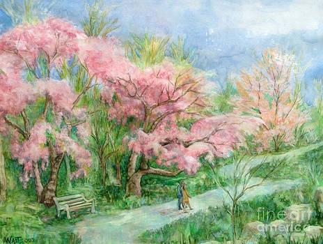 Nancy Wait - Cherry Blossom Walk