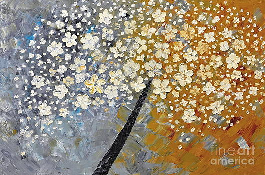 Cherry blossoms by Mariana Stauffer