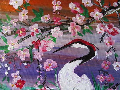 Cherry Blossoms by Susan Voidets