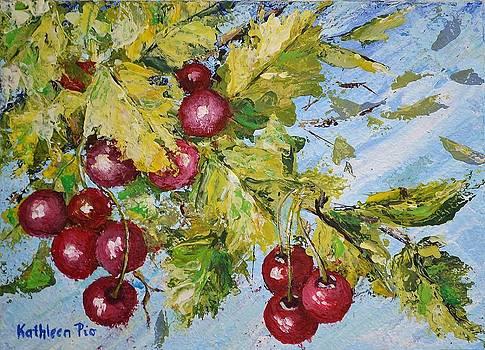 Cherry Breeze by Kathleen Pio