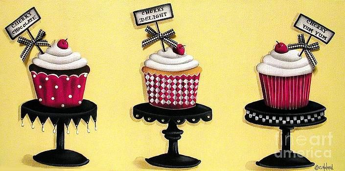 Cherry Cupcake Dream by Catherine Holman