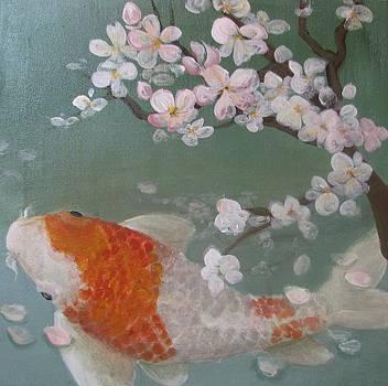 Cherry Koi by Terry Cervantes