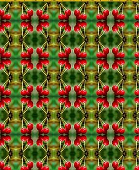 Cherry tile by William Braddock