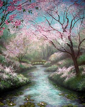 Cherry Trees by Glenda Stevens
