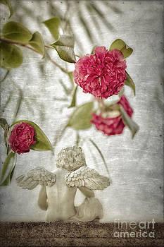 Susan Gary - Cherub and Camellias