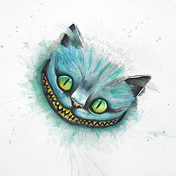 Cheshire Cat by Astrid Rieger