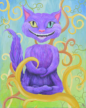 Cheshire Grin by Meganne Peck