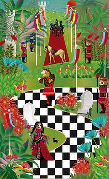 Chess Festival - Limited Edition 2 Of 20 by Gabriela Delgado