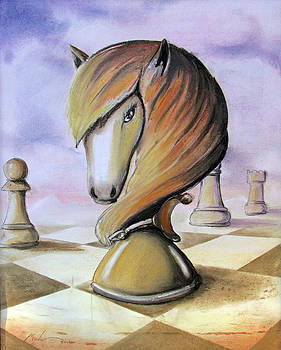 Chess Horse by Kevin Escobar
