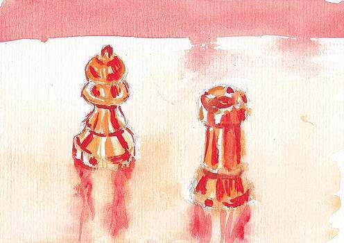 Chess I by Saskia Ahlbrecht
