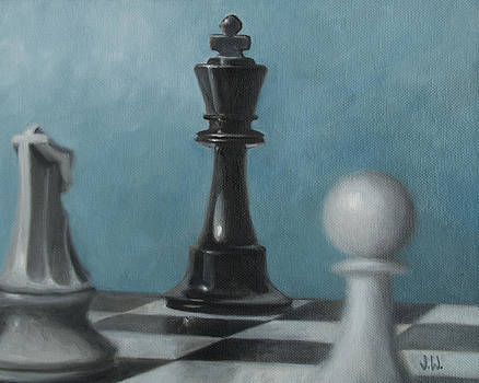 Chess Pieces by Joe Winkler