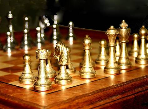 Chess Set  by Diane Merkle