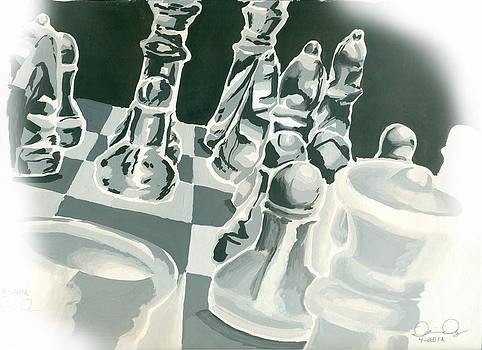 Chess Set by Dorian Day