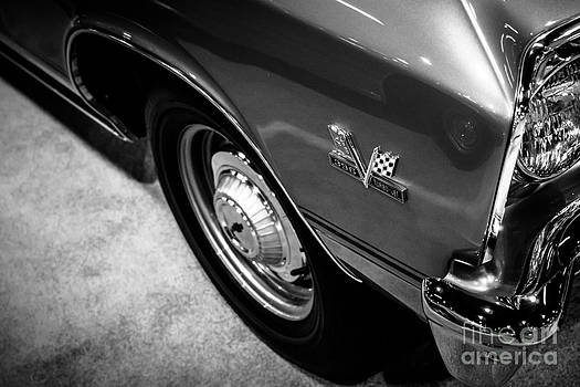 Paul Velgos - Chevrolet Chevelle 396 Black and White Picture